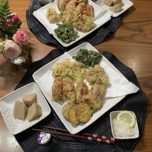 男の料理№33 今日は天ぷら!