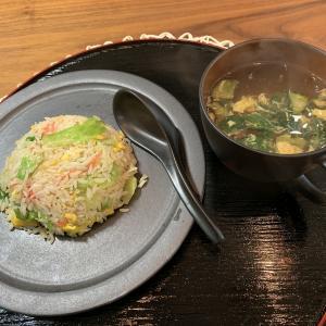 男の料理№88 カニ(?)レタス炒飯
