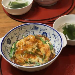男の料理№108 ニラかに玉のとろみあんかけ(byちおりさん)