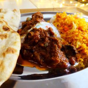 Halima kebab biryani at home, January 2020