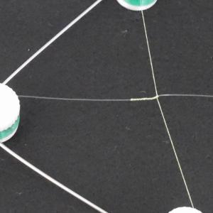 FGノット用ノットアシストでPEラインとリーダーを結ぶ
