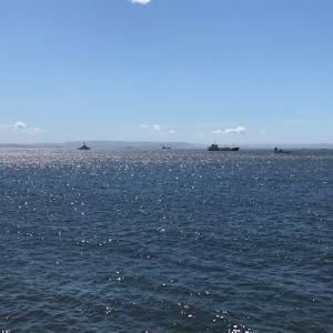 福浦岸壁荒れ模様