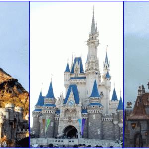 シンデレラ城とプロメテウス火山、美女と野獣の城、ディズニーにある建物で一番高いのはどれ?
