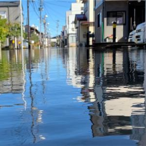 【台風19号で家が水浸し】自宅浸水まで時系列順に行動を晒す。