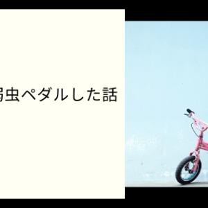 【ノムラ物語】失恋して弱虫ペダルした話