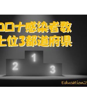 【徹底比較】コロナ感染者数上位3都道府県【教育委員会】