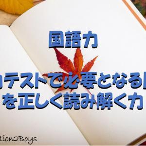 国語力 -学力テストで必要となる問題を正しく読み解く力-