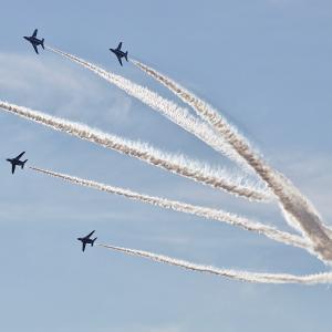 ブルーインパルスいよいよ今週末上空を飛行する・・エアフェスタ2019