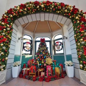ここはミキミニだね♥ランドステーションに飾るクリスマスツリー