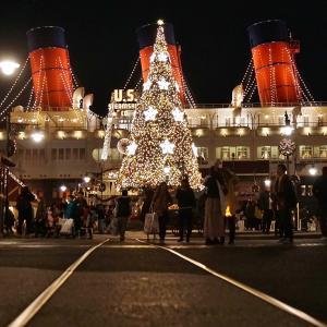 TDSどこから見てもクリスマスツリーはいいな~♪