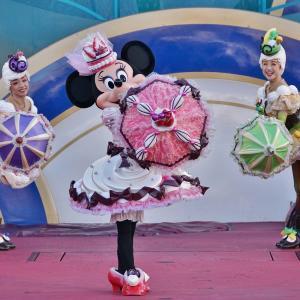ベリースイーツ傘「ミニー」踊らされる♪私よ~♪