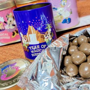 5つの缶ディズニー上海チョコ美味しい5周年グッズ