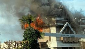 【福島まとめ】コーヒーショップサリバンが火事!火災の様子と3日後の様子