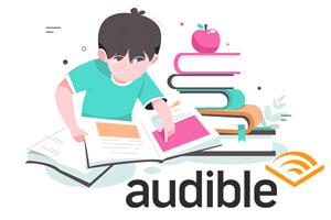 audible(オーディブル)を子供に聴かせるには?【無料体験も可】