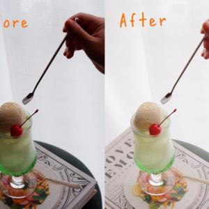 【写真加工・初級編】明るく白っぽい写真の作り方と逆光補正