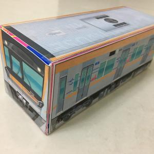 [無料]鉄道会社のHPからダウンロードできる電車のペーパークラフト!子供と作ってみました♪