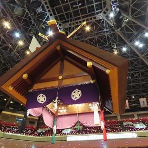 大相撲初場所升席最前列1⃣