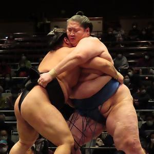 大相撲初場所升席最前列2⃣