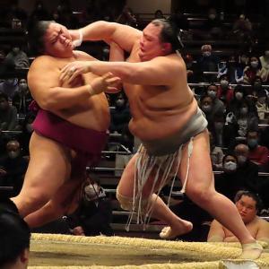 大相撲初場所升席最前列3⃣