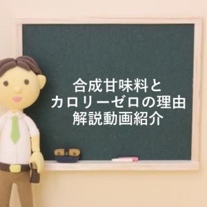 【化学解説系Vtuber才媛テス子さん】合成甘味料とカロリーゼロの解説動画