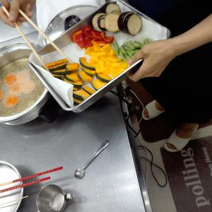 【王寺教室】夏野菜の揚げびたし♪ 6月特別教室開催!