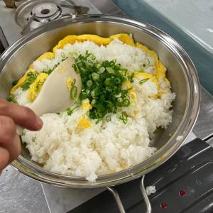 【長岡教室】絶品 パラパラ炒飯