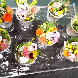 【堺教室】食べるお花 ~ Edible Flowers ~