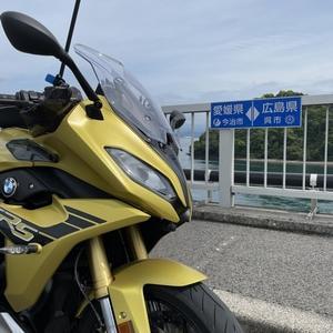 広島再びの緊急事態宣言。運よく?直前ソロツーリングinとびしま海道