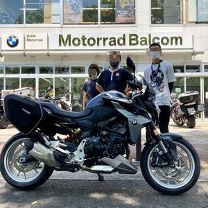 発表!BMW F900R。ブログタイトルも変更します