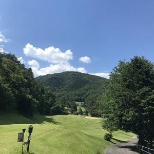 気温30度のゴルフでした。八千代カントリー