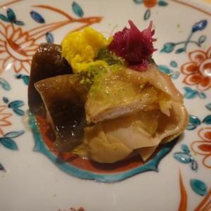 祇園 楽味で丹波松茸を頂きました!