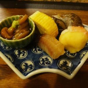 西木屋町のなな治から新京極の寿司 乙羽へ梯子しました。