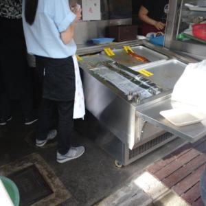 土用丑の日 午前8時半を待たずして鰻は完売しました。