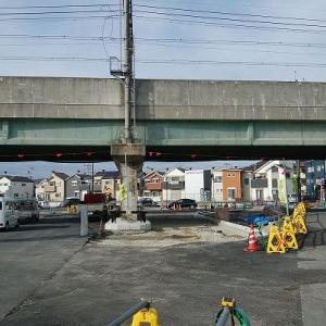 安満遺跡公園周辺道路ウォッチ・2021年1月