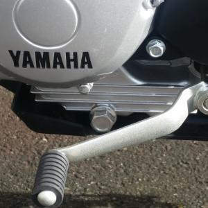 YAMAHA XTZ125  1回目オイル交換