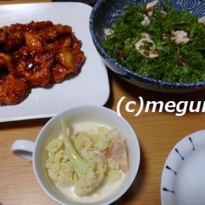 六甲のめぐみの直販野菜で夕食