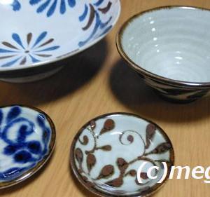 琉球食器とガラスのそうめん鉢をテーブルウェアイーストで購入