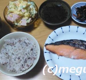 昨日は少し和風(?)の夕食