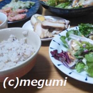 ストックしていた紅茶煮&サラダ&練製品&野菜スープ