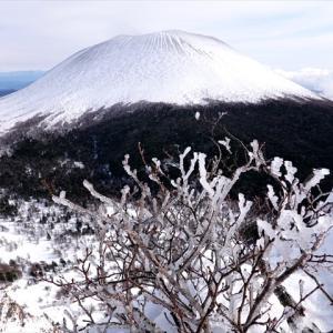 2年ぶりの雪の黒斑山
