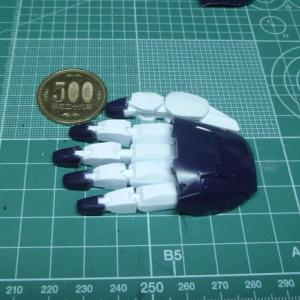 1/60 マジンガーZ INFINITY Ver. 製作記9 「手指の可動化」