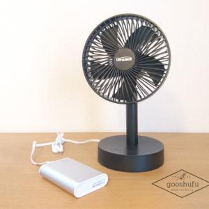 夏キャンプの暑さ対策方法。おすすめは【URHARBOR】USB卓上扇風機!