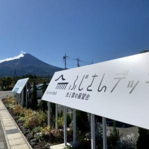 盆地の風景:富士河口湖町で富士山を眺望できるスポット「ふじさんデッキ」にて心をデトックス