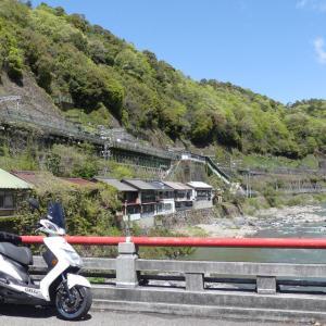 定光寺駅までショートツーリング