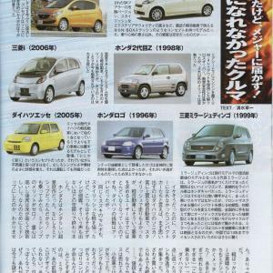 久しぶりに雑誌の記事に三菱iが掲載されました!