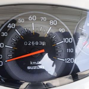 アドレス125 燃費記録・その⑮(R3.5.9)