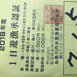 2019 鮎釣行記(5) 日本海遠征 其の参