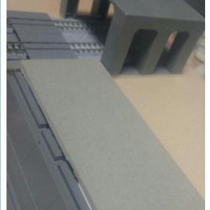 「北楢崎駅と楢崎川橋梁」(4)右側川岸の斜面?作り。