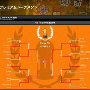 私のサッカークラブチームがCUP戦優勝!v(^^)