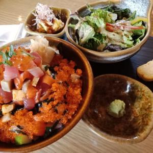 キラキラ海鮮丼☆ Okuzono。